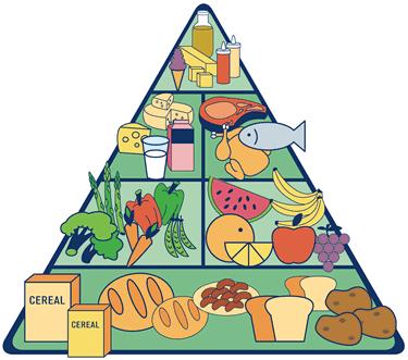 Pirámide alimenticia o nutricional