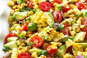 Ensalada de maíz dulce