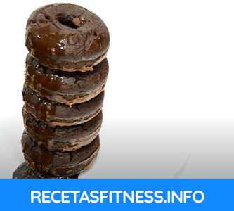Donuts de chocolate totalmente fitness y saludables