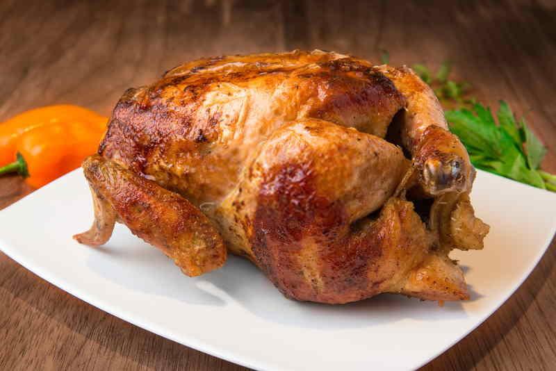 Pollo a la brasa