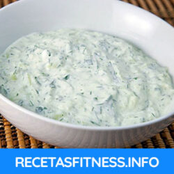 Salsa tzatziki saludable y fitness
